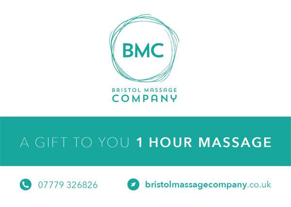 Massage Vouchers in Bristol